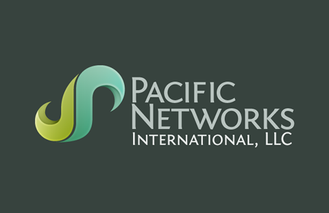 Pacific Networks International Logo Design