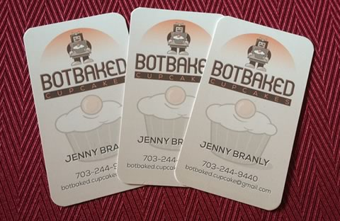 BotBaked Business Cards